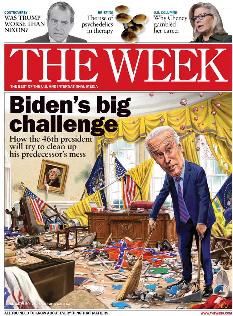 The Week Magazine cover for January 29, 2021.