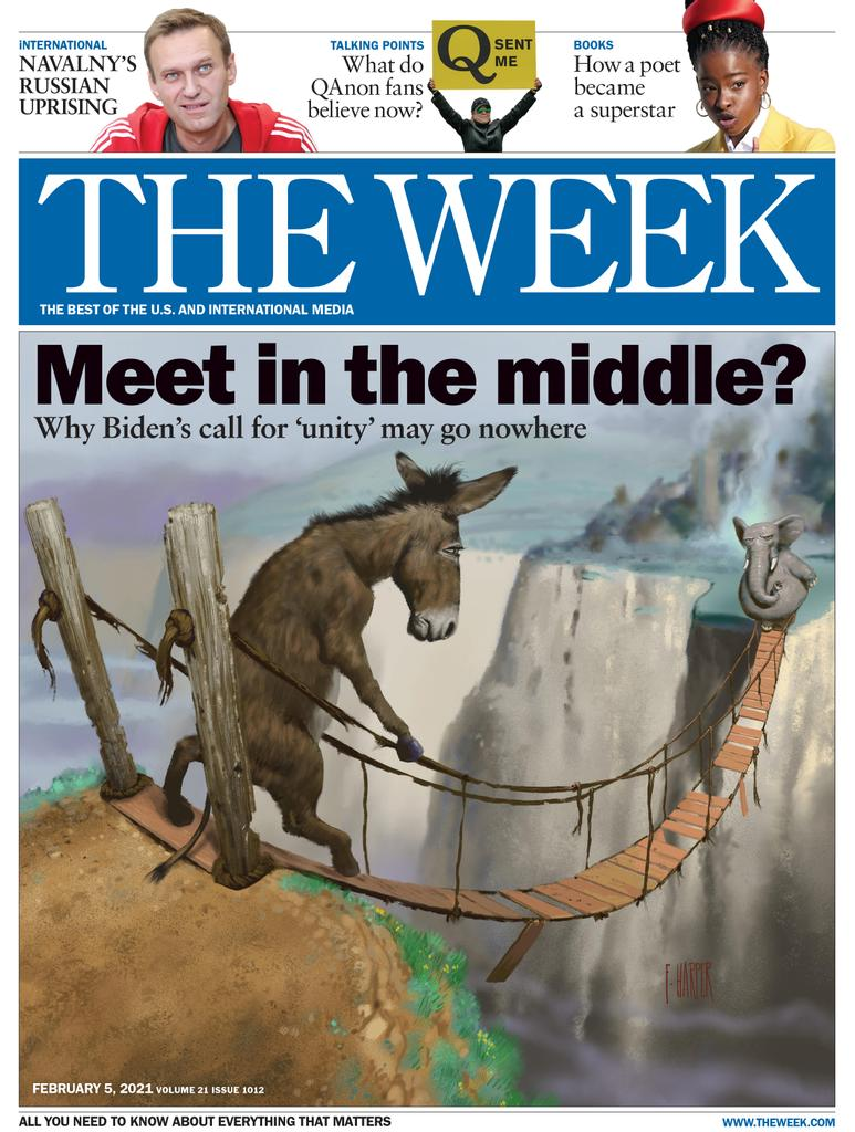 The Week Magazine cover for February 05, 2021.