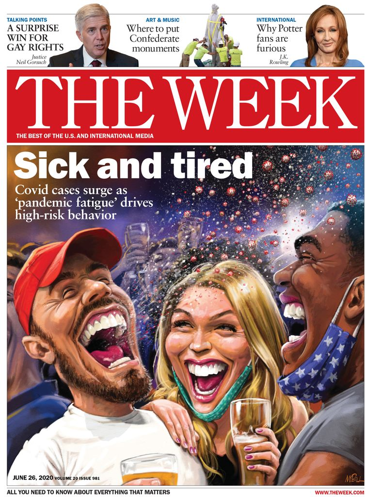 The Week Magazine cover for June 26, 2020.