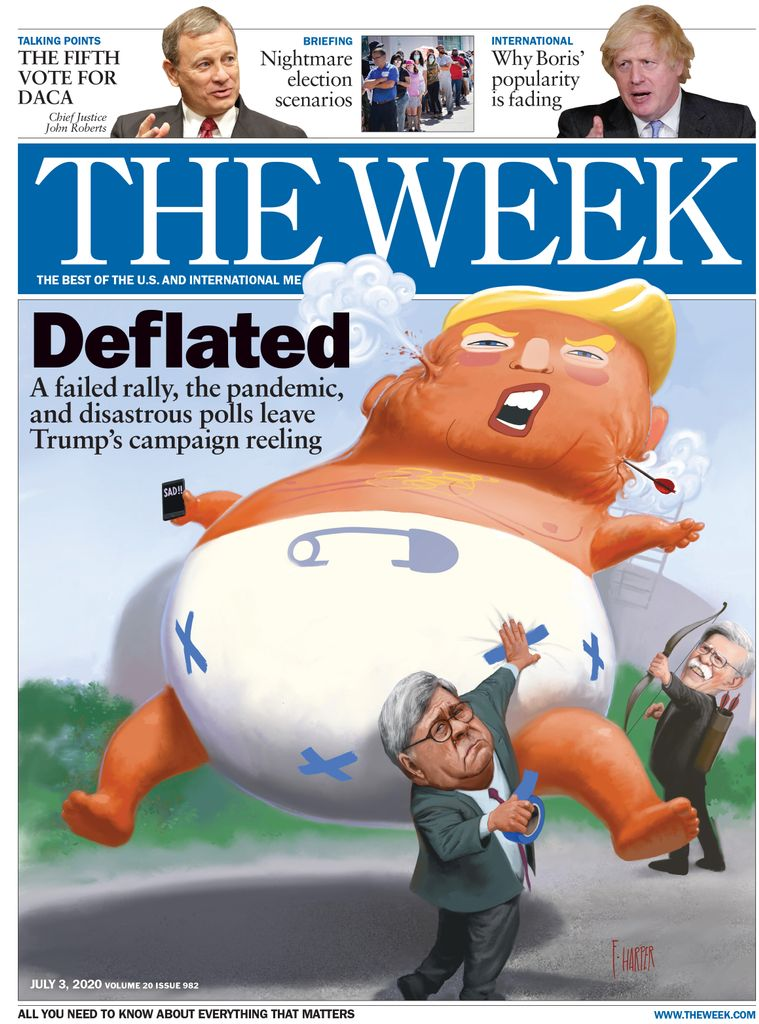 The Week Magazine cover for July 03, 2020.
