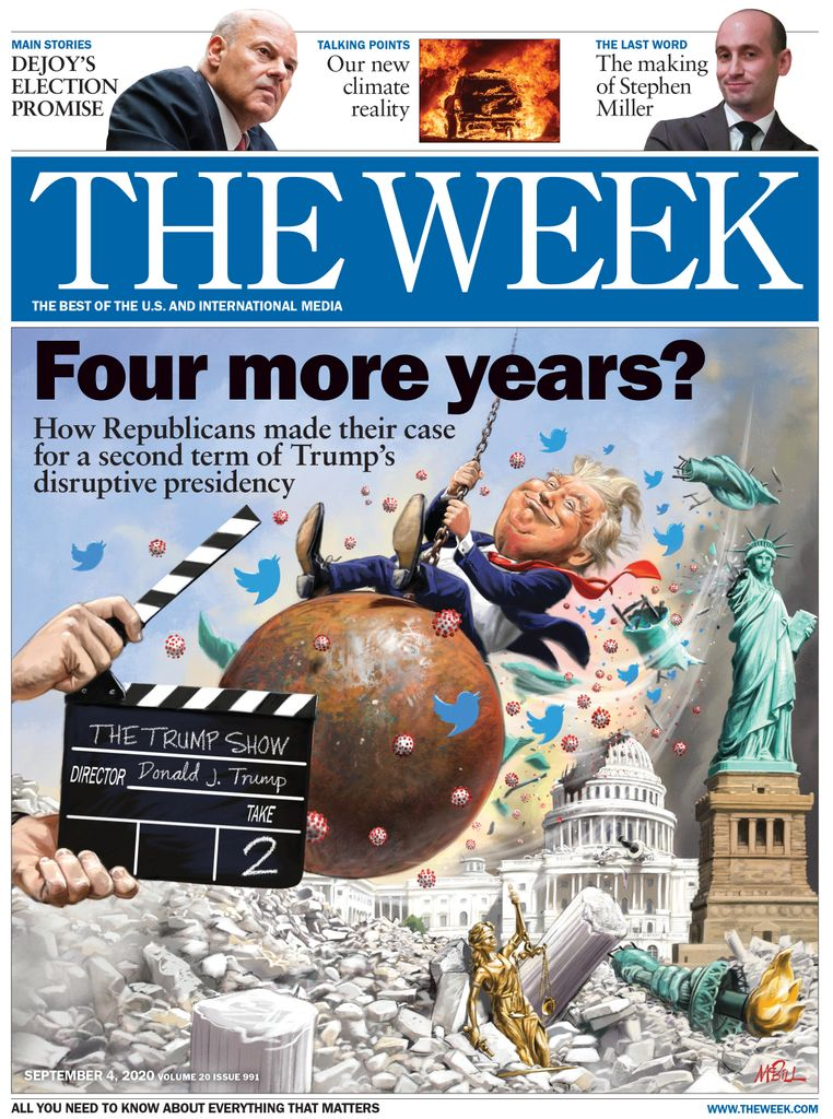 The Week Magazine cover for September 04, 2020.