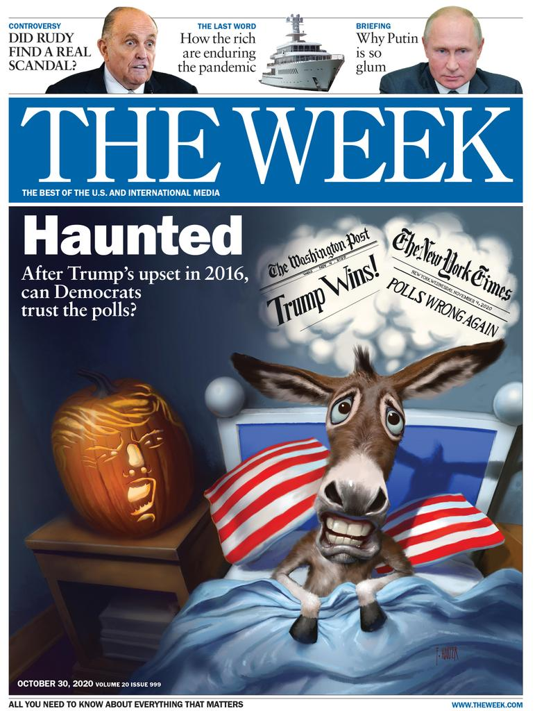 The Week Magazine cover for October 30, 2020.