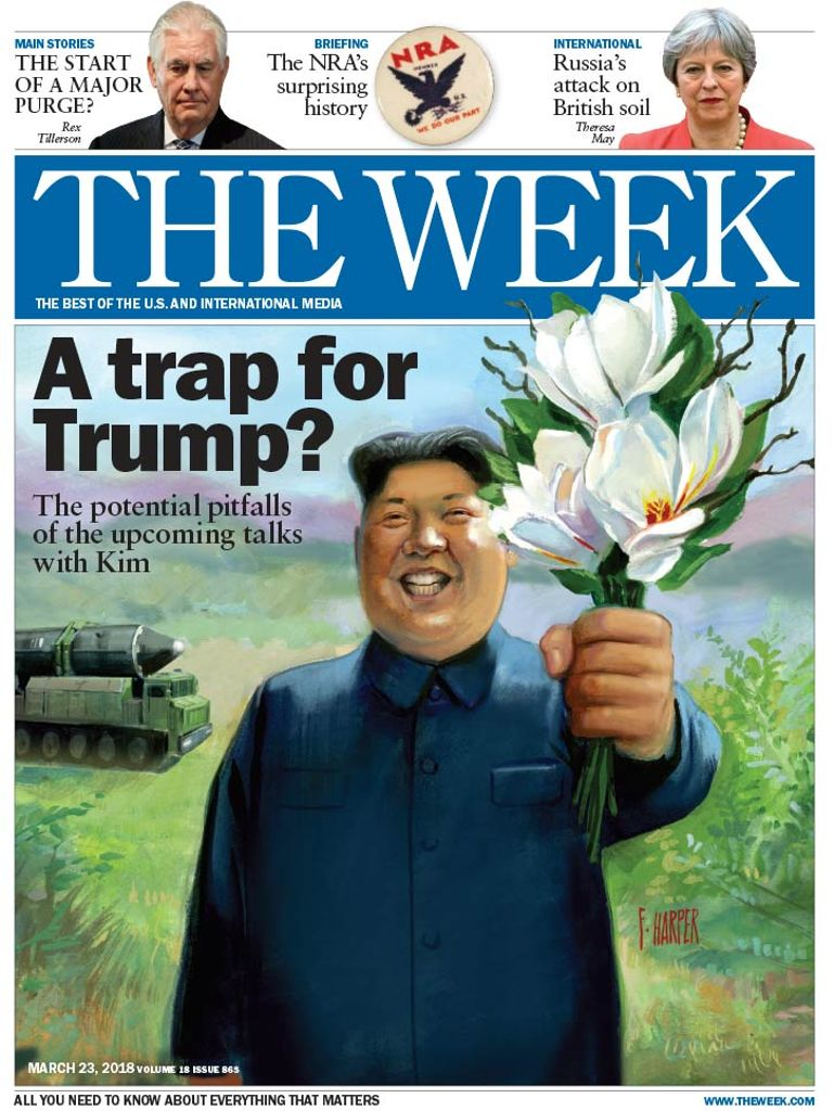 The Week Magazine cover for March 23, 2018.