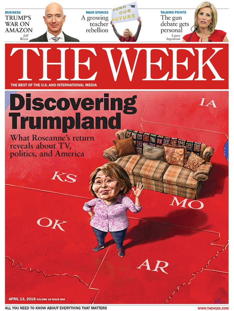 The Week Magazine cover for April 13, 2018