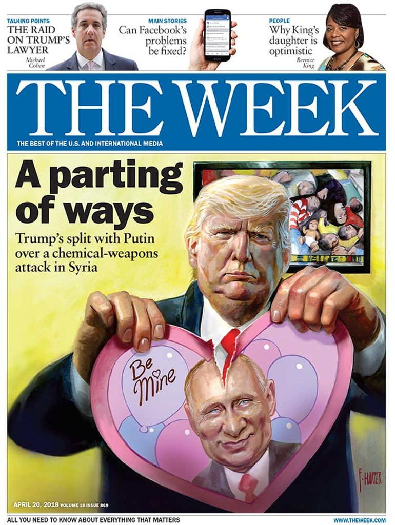 The Week Magazine cover for April 20, 2018