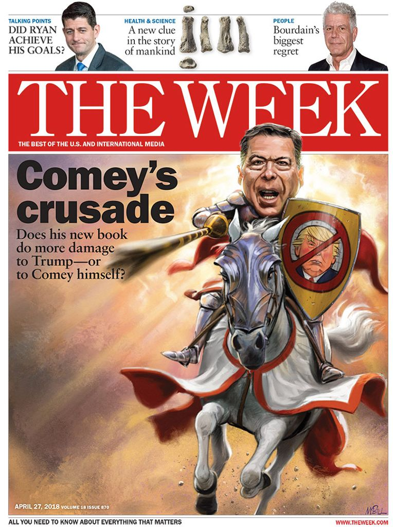 The Week Magazine cover for April 27, 2018.