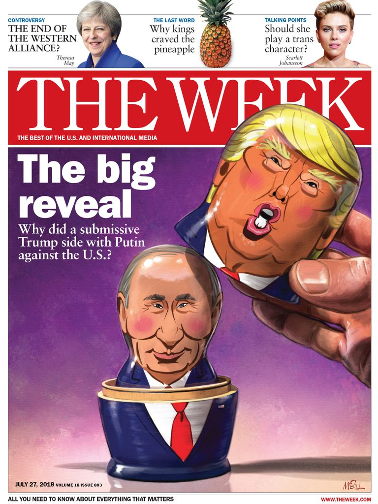 The Week Magazine cover for July 27, 2018