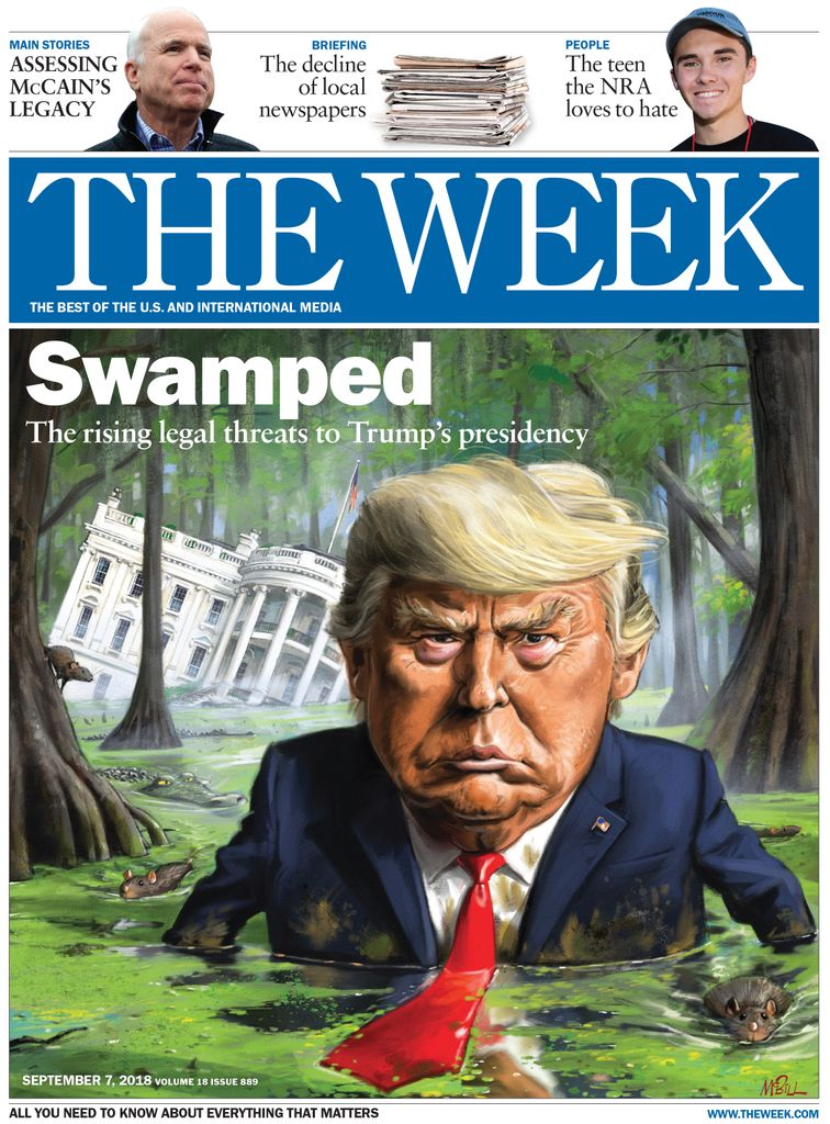 The Week Magazine cover for September 07, 2018.