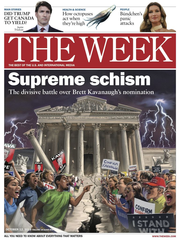 The Week Magazine cover for October 12, 2018.