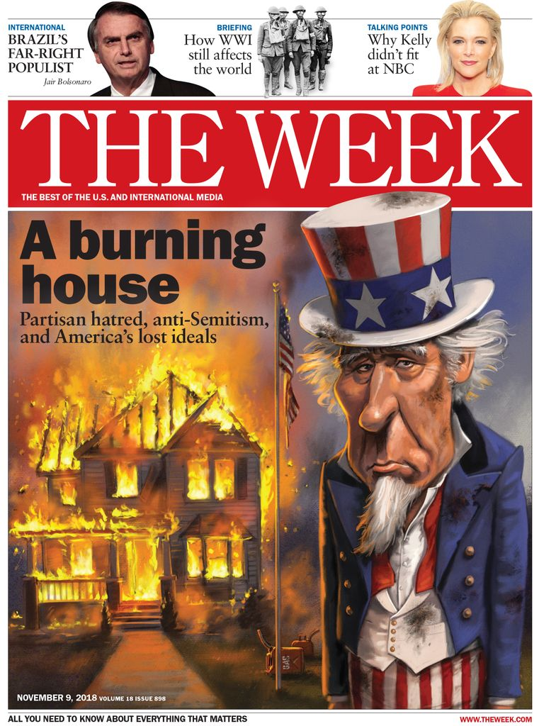 The Week Magazine cover for November 09, 2018.
