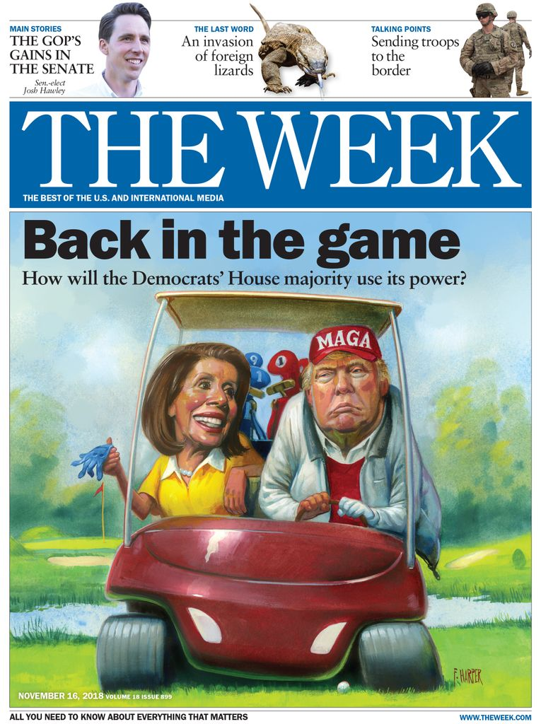 The Week Magazine cover for November 16, 2018.