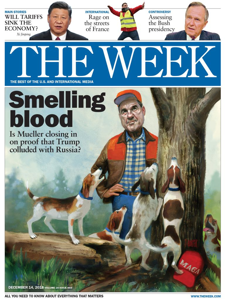 The Week Magazine cover for December 14, 2018.
