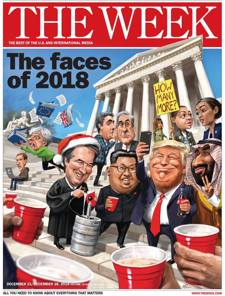 The Week Magazine cover for January 03, 2019
