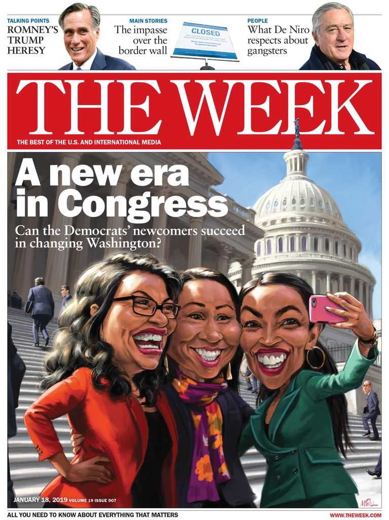 The Week Magazine cover for January 18, 2019