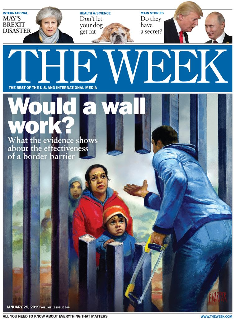 The Week Magazine cover for January 25, 2019