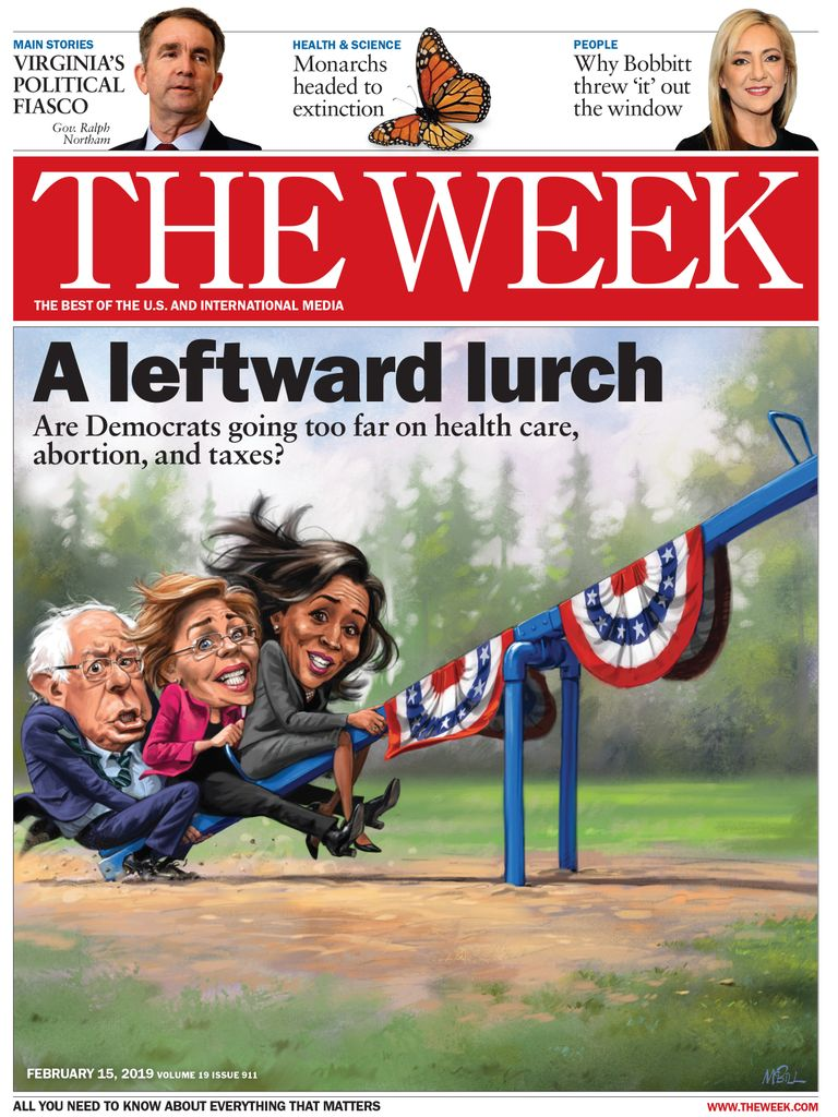 The Week Magazine cover for February 15, 2019.