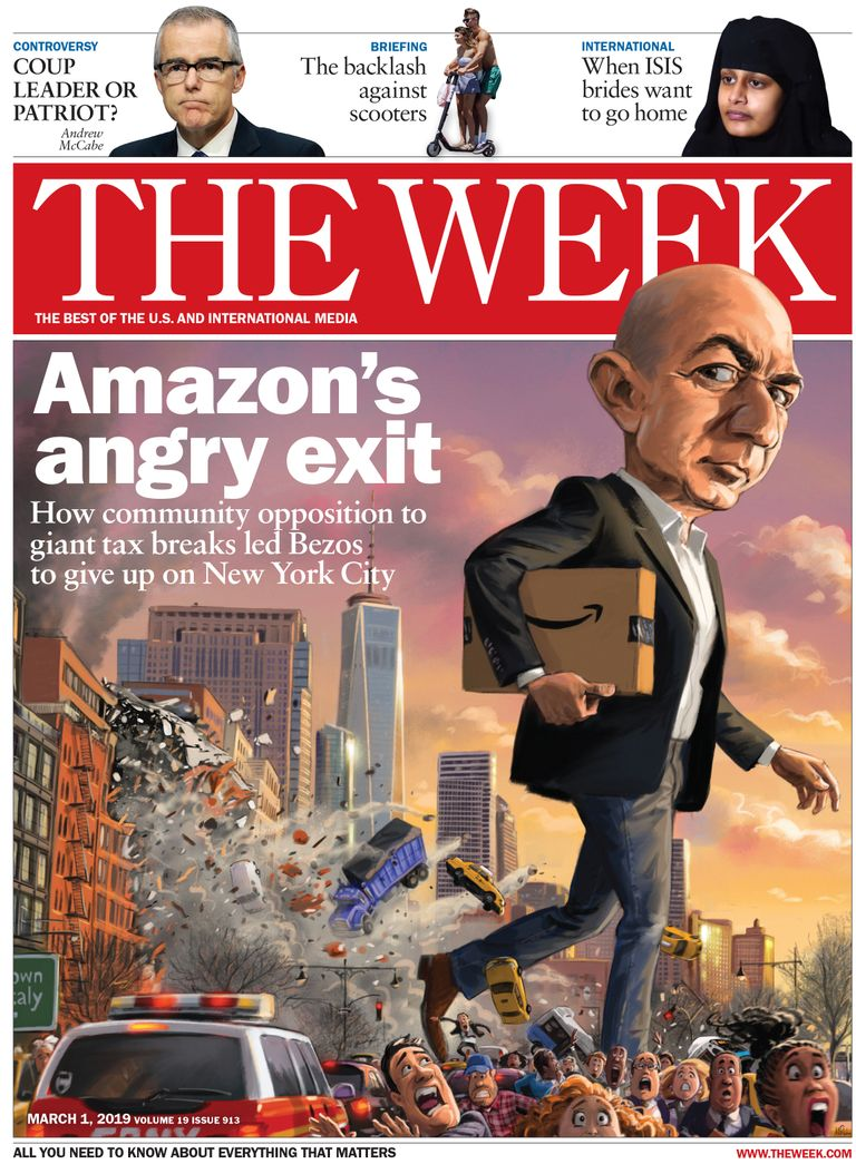The Week Magazine cover for March 01, 2019.