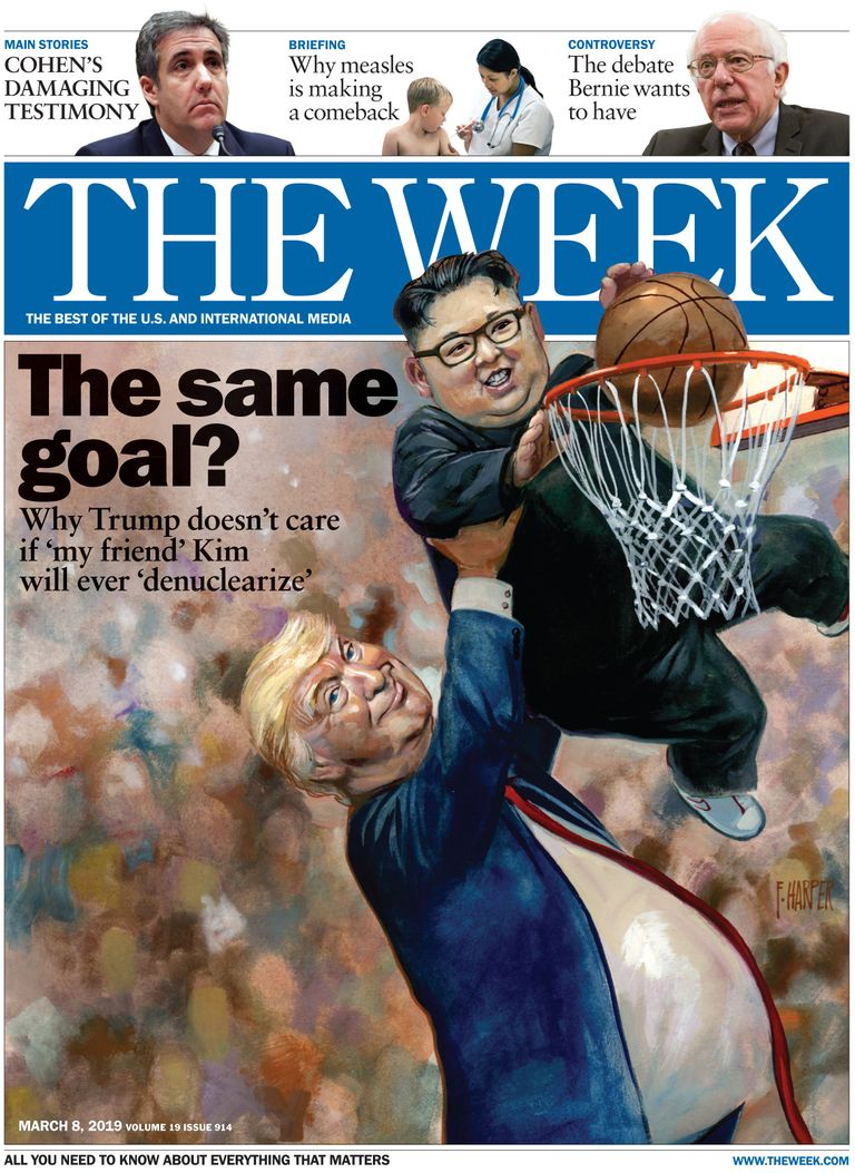 The Week Magazine cover for March 08, 2019.