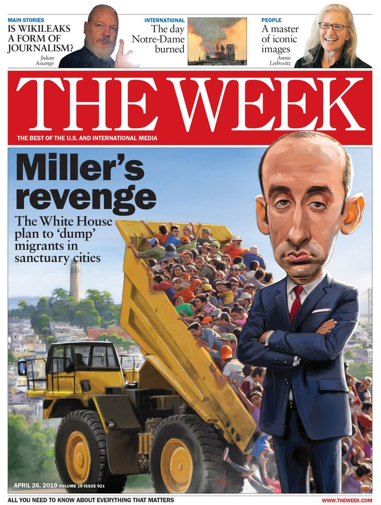 The Week Magazine cover for April 26, 2019.