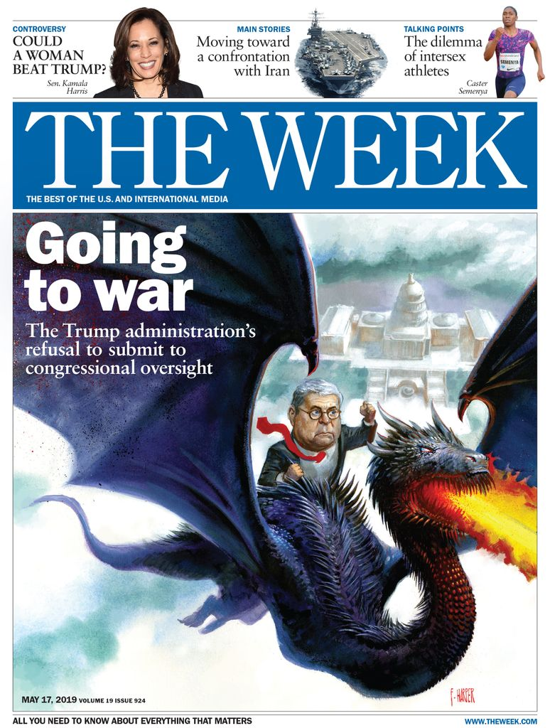 The Week Magazine cover for May 17, 2019.