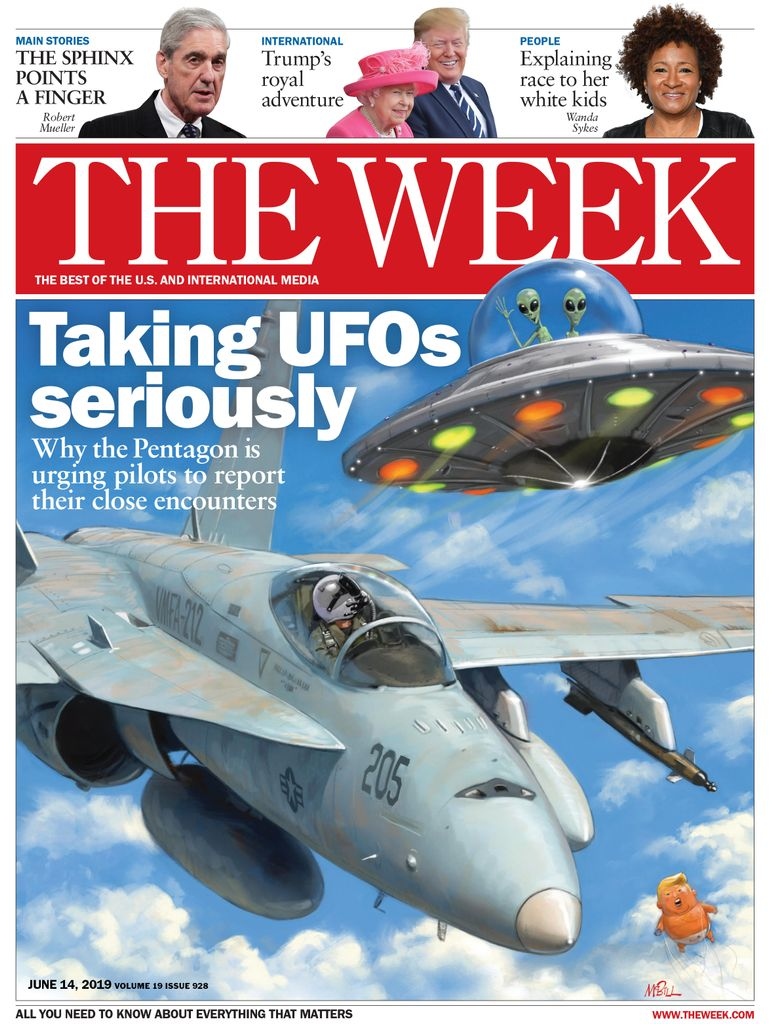 The Week Magazine cover for June 14, 2019.