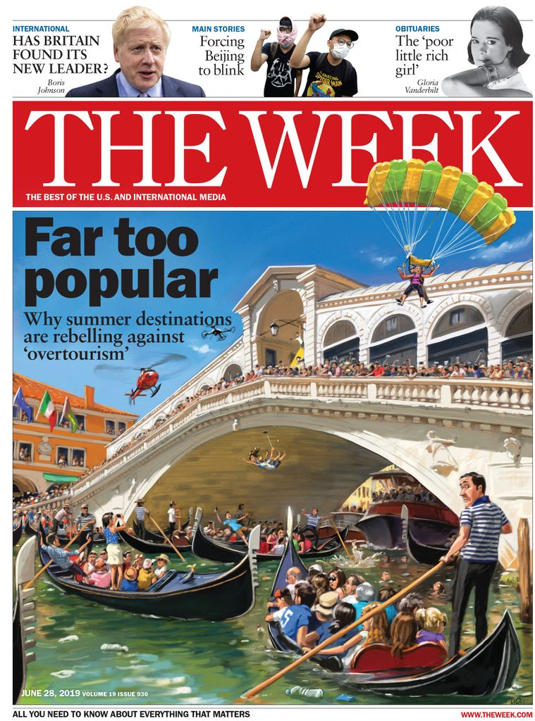 The Week Magazine cover for June 28, 2019.