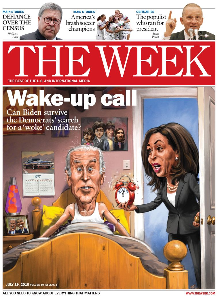 The Week Magazine cover for July 19, 2019.