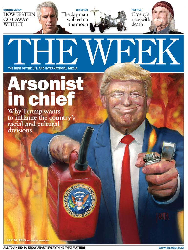 The Week Magazine cover for July 26, 2019.