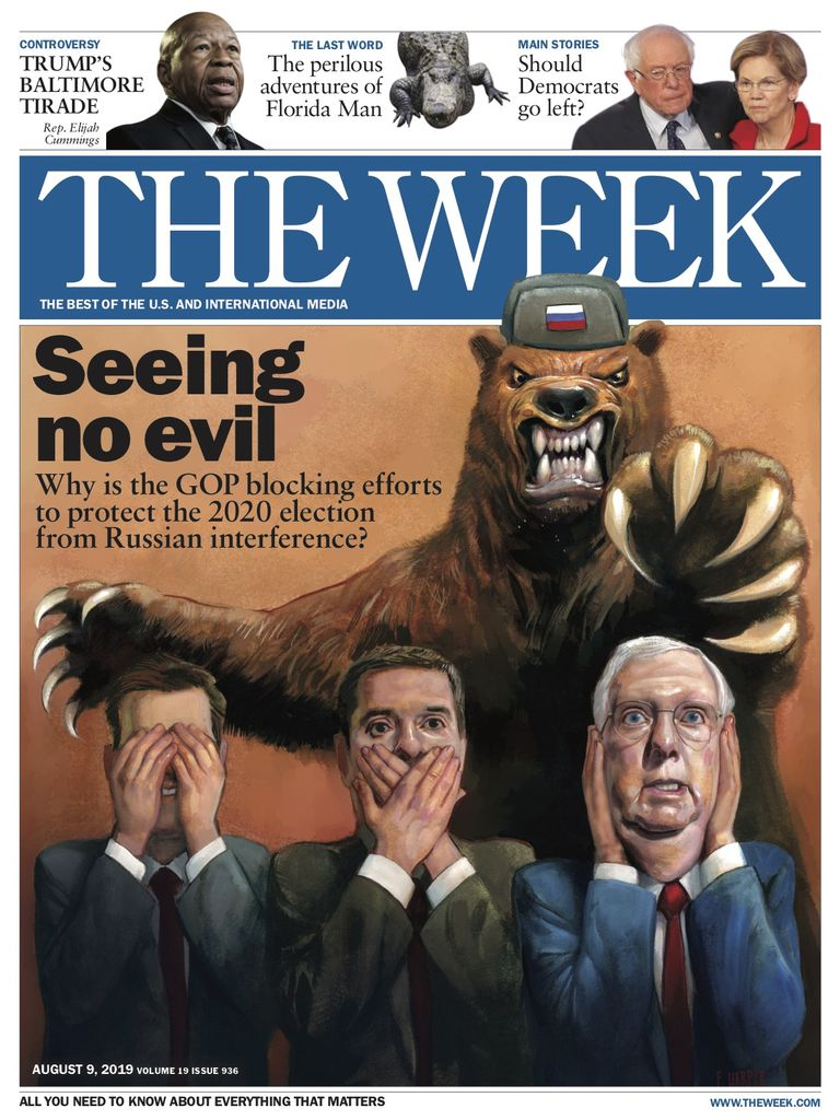 The Week Magazine cover for August 09, 2019