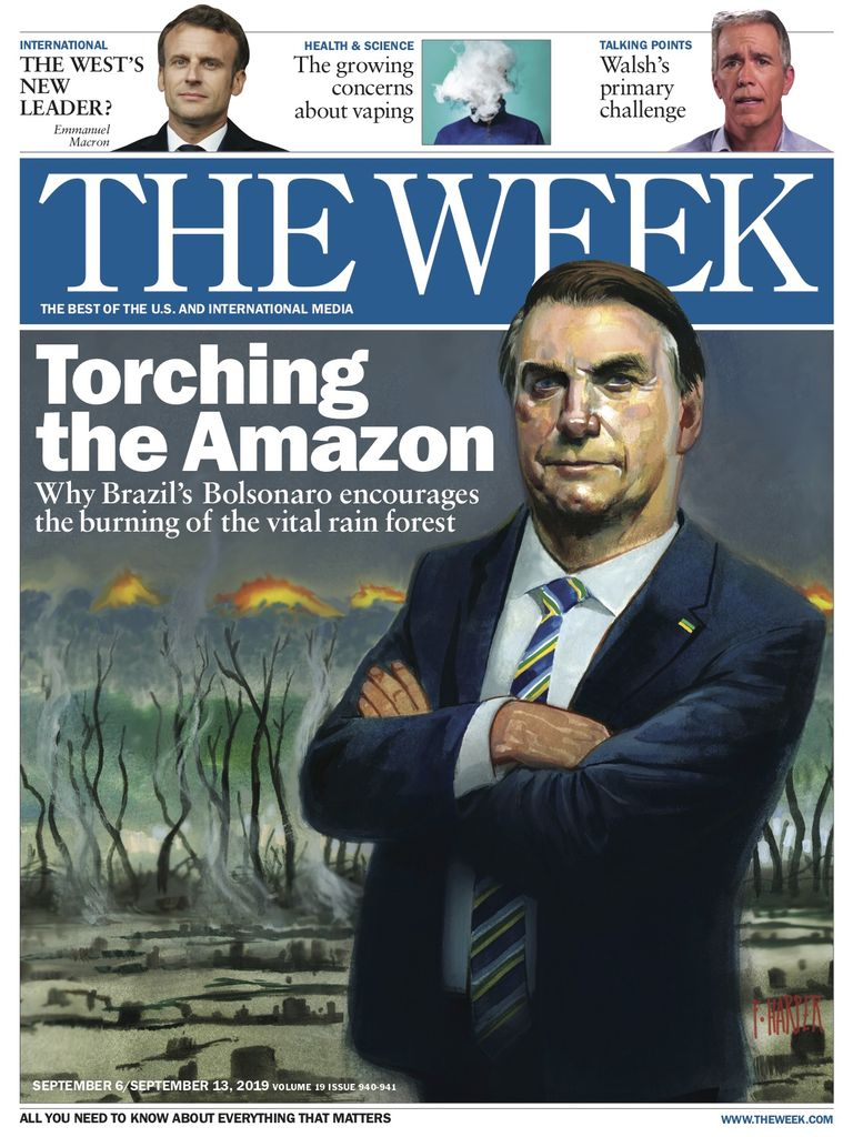 The Week Magazine cover for September 06, 2019.