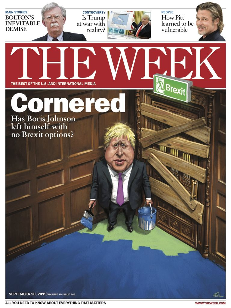 The Week Magazine cover for September 20, 2019.