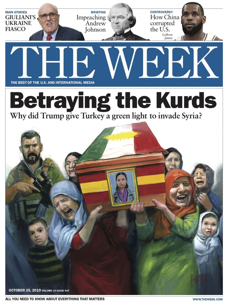 The Week Magazine cover for October 25, 2019.