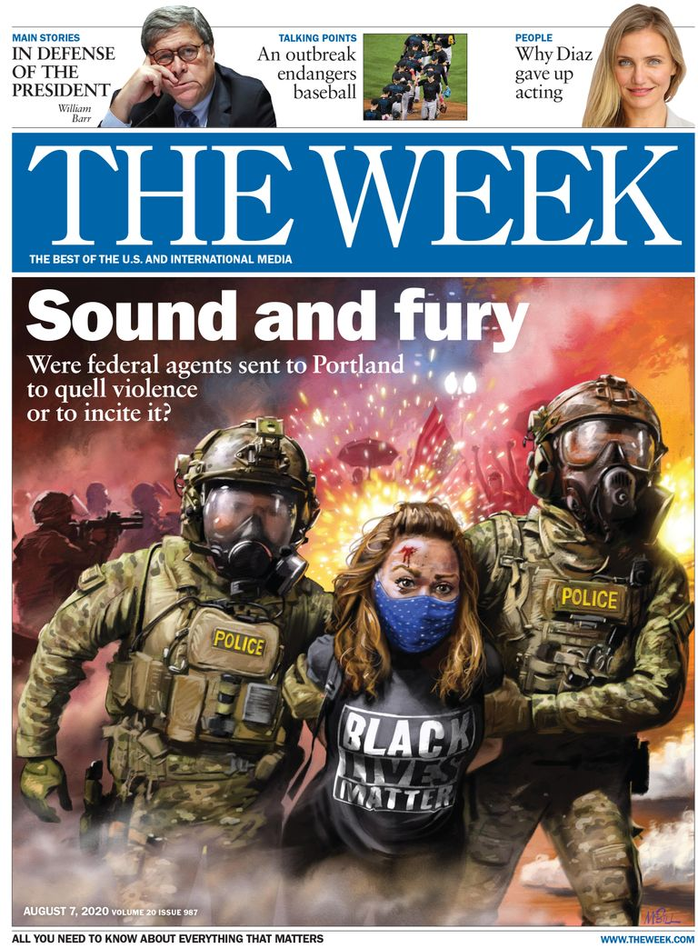 The Week Magazine cover for August 07, 2020.