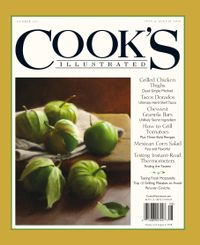 June 30, 2018 issue of Cook's Illustrated