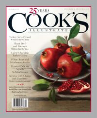 October 31, 2018 issue of Cook's Illustrated