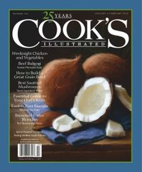 January 31, 2019 issue of Cook's Illustrated