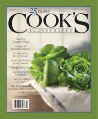 February 28, 2019 issue of Cook's Illustrated