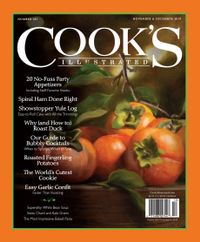 October 31, 2019 issue of Cook's Illustrated