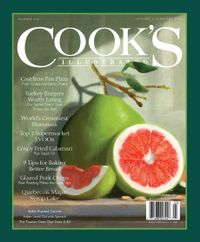 December 31, 2019 issue of Cook's Illustrated