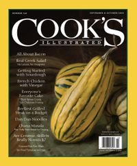 September 01, 2020 issue of Cook's Illustrated