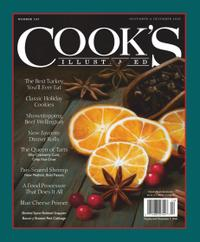 November 01, 2020 issue of Cook's Illustrated