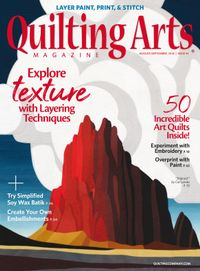 July 31, 2018 issue of Quilting Arts Magazine