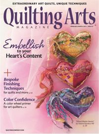 February 28, 2019 issue of Quilting Arts Magazine