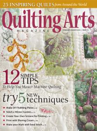 February 01, 2015 issue of Quilting Arts Magazine