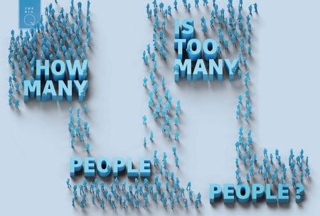 HOW MANY PEOPLE IS TOO MANY PEOPLE?