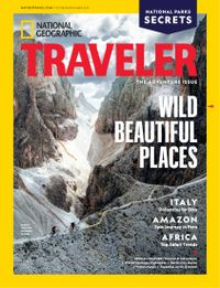 September 30, 2019 issue of National Geographic Traveler