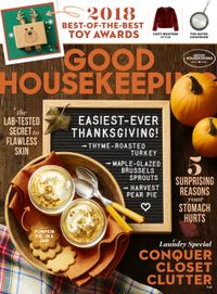 October 31, 2018 issue of Good Housekeeping