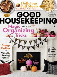 September 30, 2019 issue of Good Housekeeping