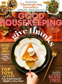 November 01, 2020 issue of Good Housekeeping