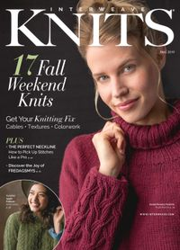 July 17, 2019 issue of Interweave Knits